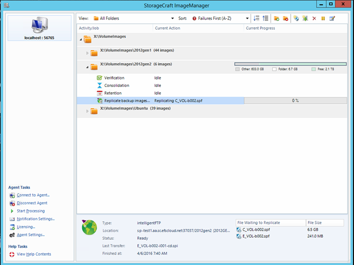 ShadowProtect -Install and Configure ImageManager 7 x with