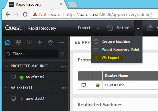 Axcient BDR for Quest VMware Continuity Cloud Guide – Axcient