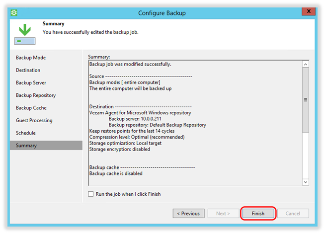 Veeam - How to Back up to a Veeam Repository in the Axcient