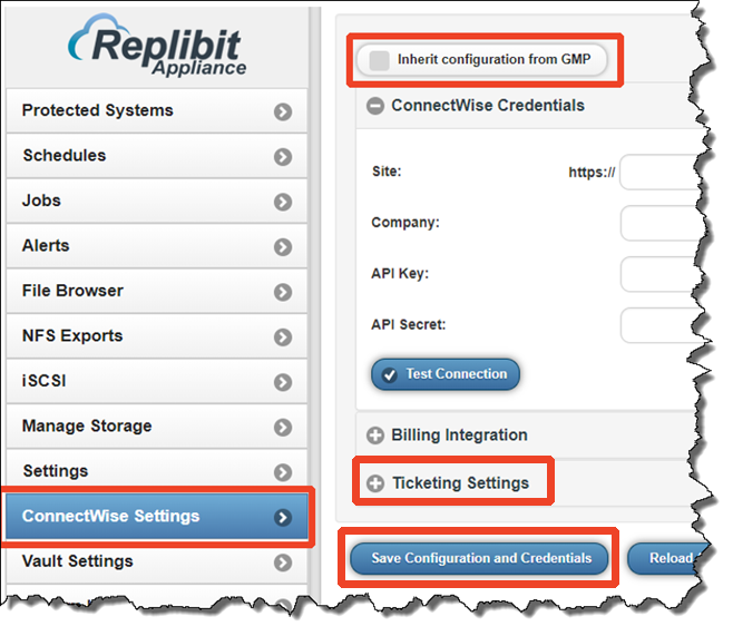 Replibit - Integrate ConnectWise with Replibit – Axcient